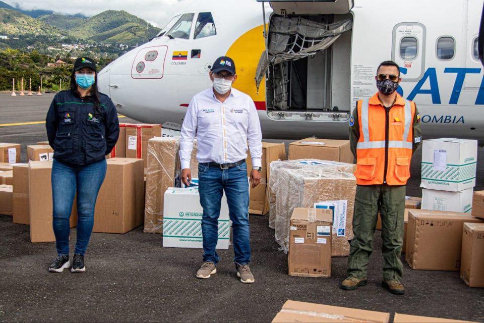 Gracias a gestiones de la Gobernación de Nariño, llegaron 19 ventiladores para atención de pacientes COVID-19