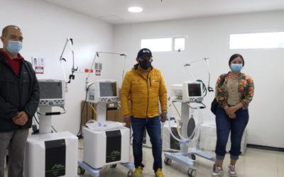 Red hospitalaria de Nariño se fortalece con la llegada de 30 ventiladores para las UCI