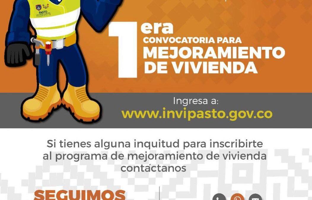 Ya está abierta la convocatoria para acceder a recursos para mejoramiento de vivienda en Pasto