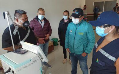 20 nuevos ventiladores se entregaron a la red hospitalaria de Nariño