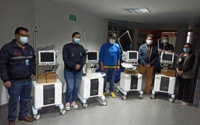 Gobernador de Nariño entregó 12 nuevos ventiladores para Unidades de Cuidados Intensivos en Pasto