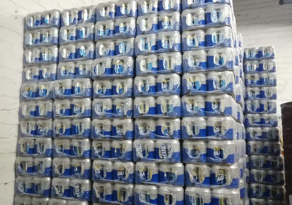 Policía de Tránsito y Transporte, en colaboración con la Gobernación de Nariño, incautó mercancía sin documentación