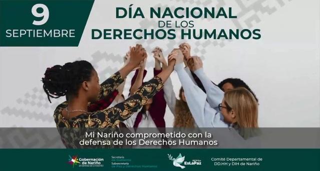 Gobernación de Nariño comprometido con la defensa de los Derechos Humanos