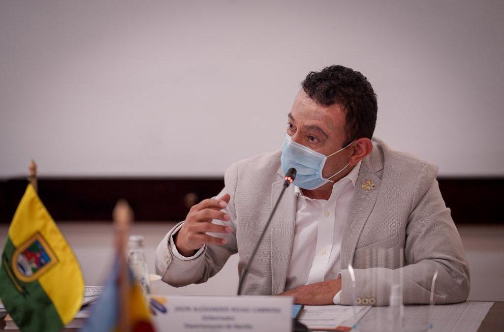 Gobernador de Nariño lideró cumbre de mandatarios departamentales