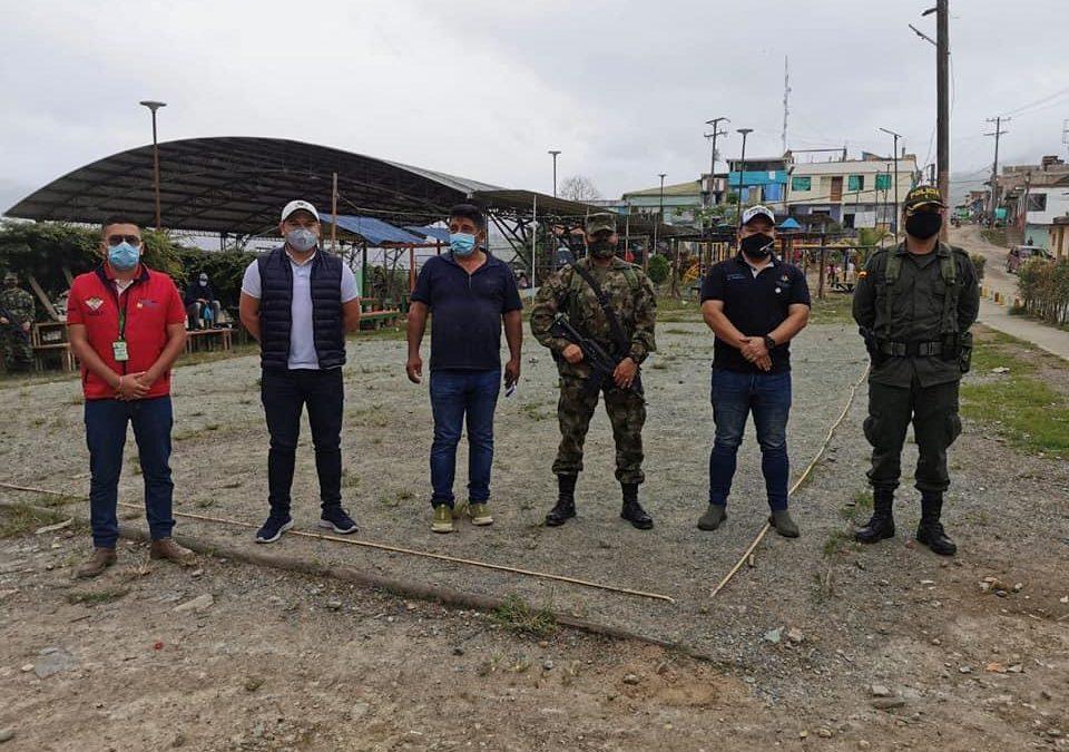 Comunidad desplazada en Policarpa recibe atención por parte de Secretaria de Gobierno de Nariño