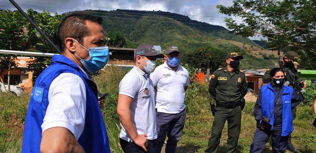 Gobernación de Nariño entregó ayuda humanitaria a población víctima de desplazamiento