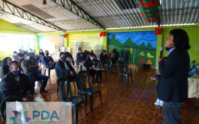 Conformación comité veedor Santa Cruz Guachavez