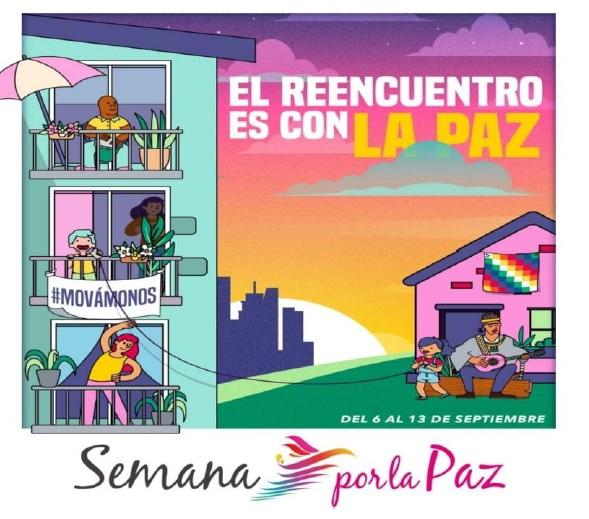 Nariño se une a la Semana por la Paz 2020