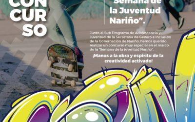 Gobernación de Nariño lanza Concurso de creación del afiche 'Semana de la Juventud Nariño'