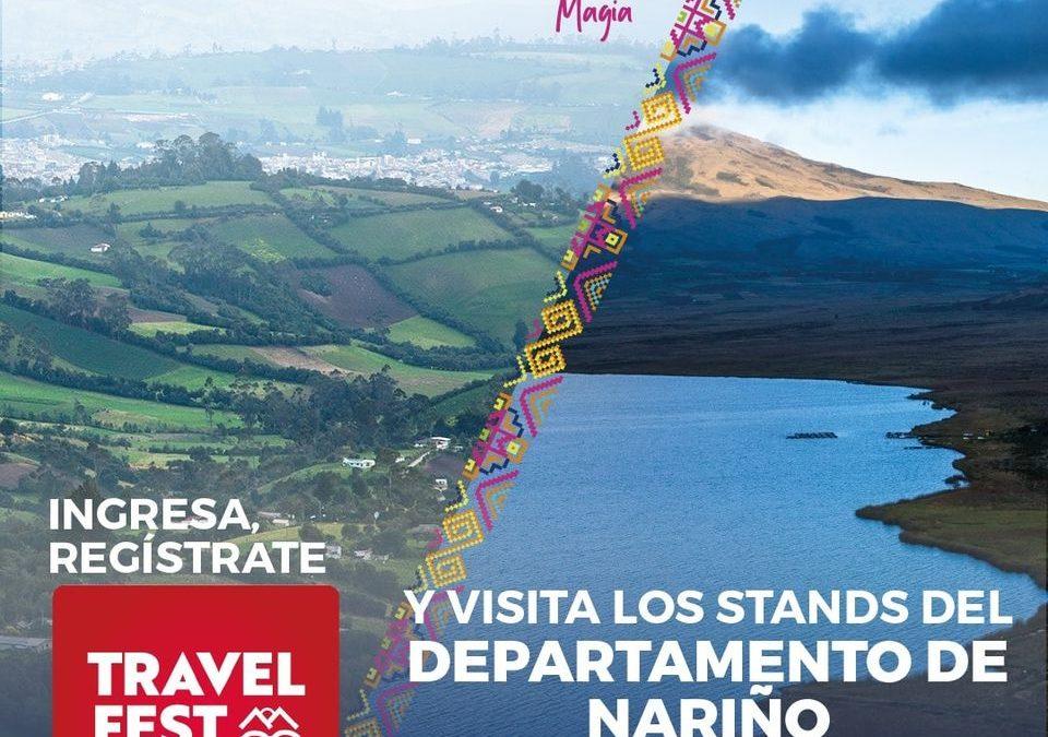Nariño participa en el 'Travel Fest Colombia', una ventana digital que impulsa el turismo en las regiones