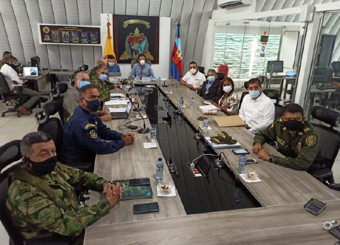 En Tumaco sesionó la Comisión Nacional de Garantías de Seguridad