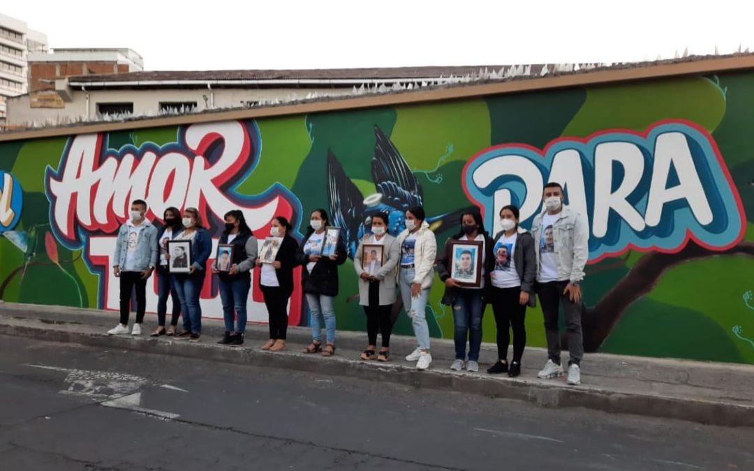 Gobierno Departamental se unió al homenaje que recibieron las juventudes víctimas de la violencia en Nariño