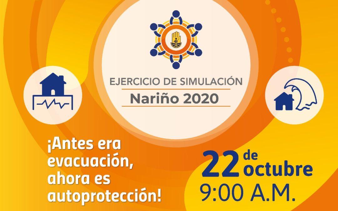 Simulacro de autoprotección ante emergencias en Nariño