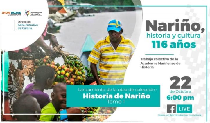 Lanzamiento de la obra de colección 'Historia de Nariño', Tomo 1