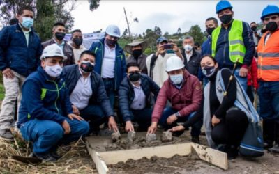 Inicia construcción de placa huella en Municipio de Córdoba – Nariño