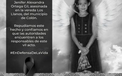 Gobernador de Nariño repudió asesinato de menor de edad sucedido en el Municipio de Colón