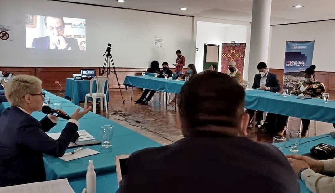 Foro regional busca alternativas de desarrollo en el sector extractivo de Nariño
