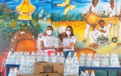 Con éxito culminó la entrega de los implementos de bioseguridad y protección para el Pacífico nariñense