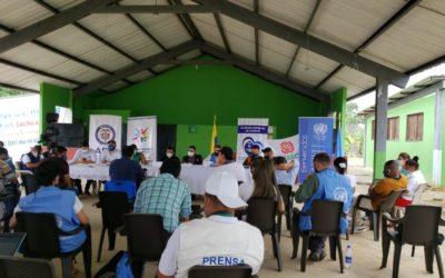 Gobernación de Nariño apoya proyectos de excombatientes que le apuestan a la paz
