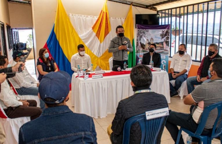 Gobernación de Nariño reactiva obras de pavimentación en la vía El Motilón-El Tambo