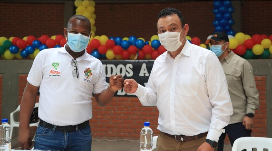 Gobernadores de Nariño y Cauca sellan alianza por el desarrollo y la paz regional