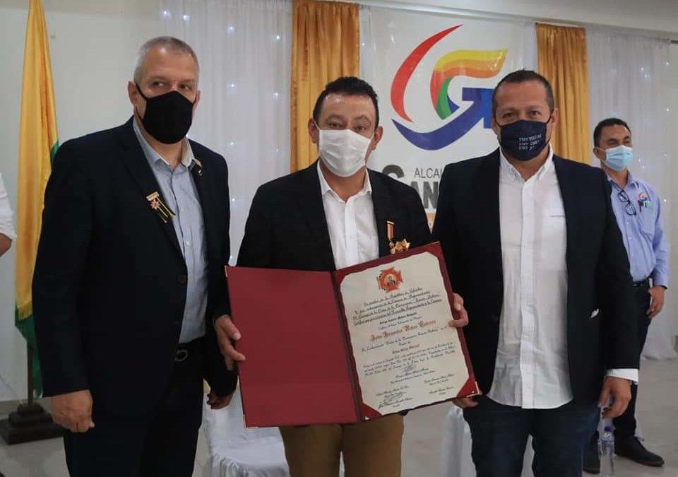 Gobernador de Nariño recibió reconocimiento a gestión, por parte de la Cámara de Representantes