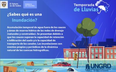 Nariño se prepara para la segunda temporada de lluvias con incidencia del Fenómeno de La Niña