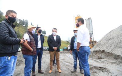 La Gobernación de Nariño reinició pavimentación de la antigua vía al norte