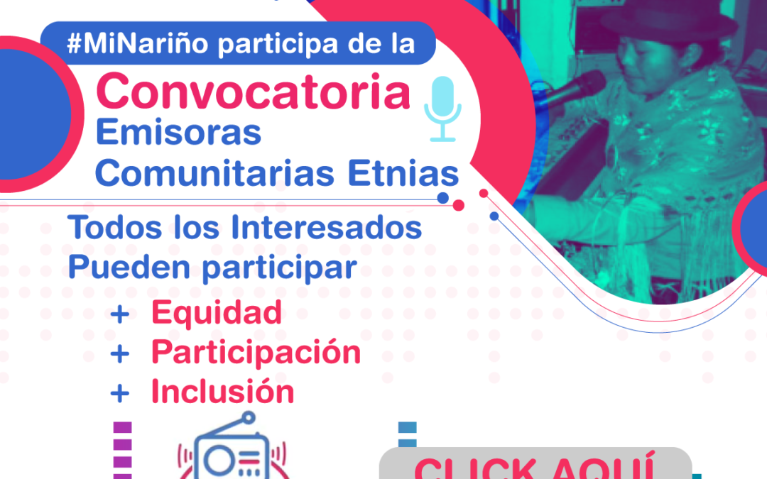 Convocatoria abierta para emisoras comunitarias étnicas