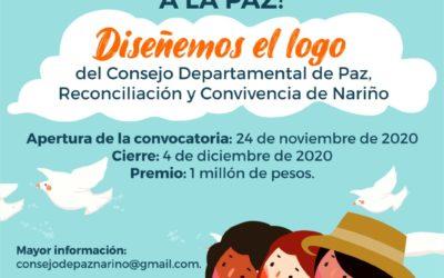 Se abre convocatoria para la creación del logo del Consejo Departamental de Paz, Reconciliación y Convivencia de Nariño