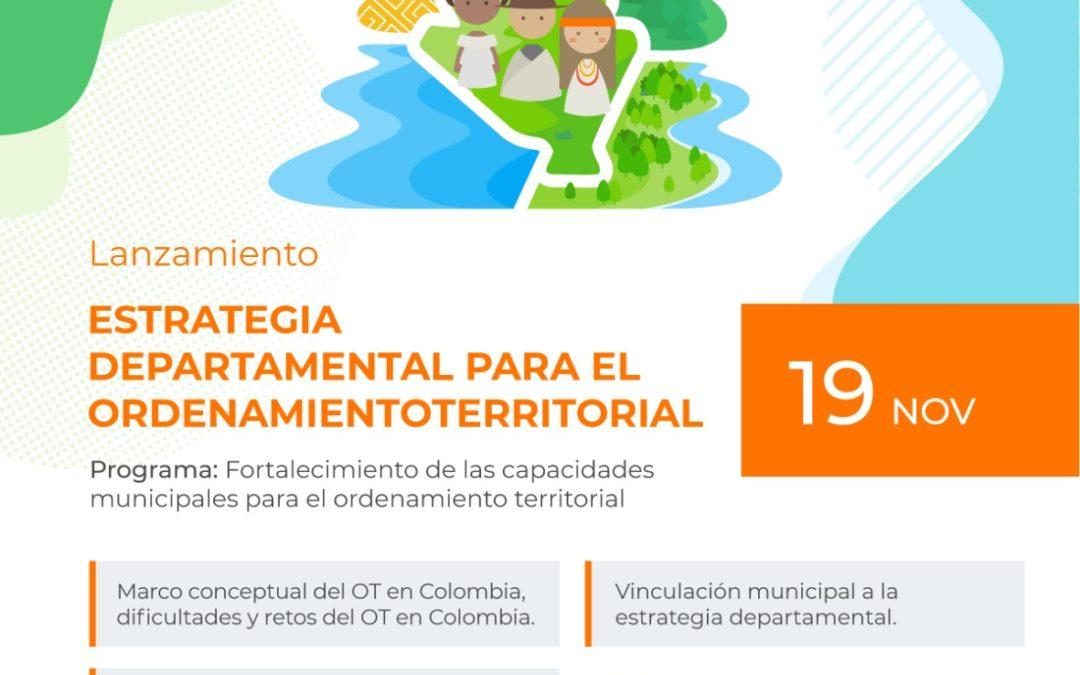 Gobernación de Nariño lanzó la 'Estrategia Departamental para el Ordenamiento Territorial'