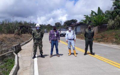 Unidad Junín Barbacoas presentó avances de proyecto de pavimentación