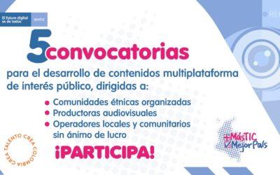 Convocatoria audiovisual 2020