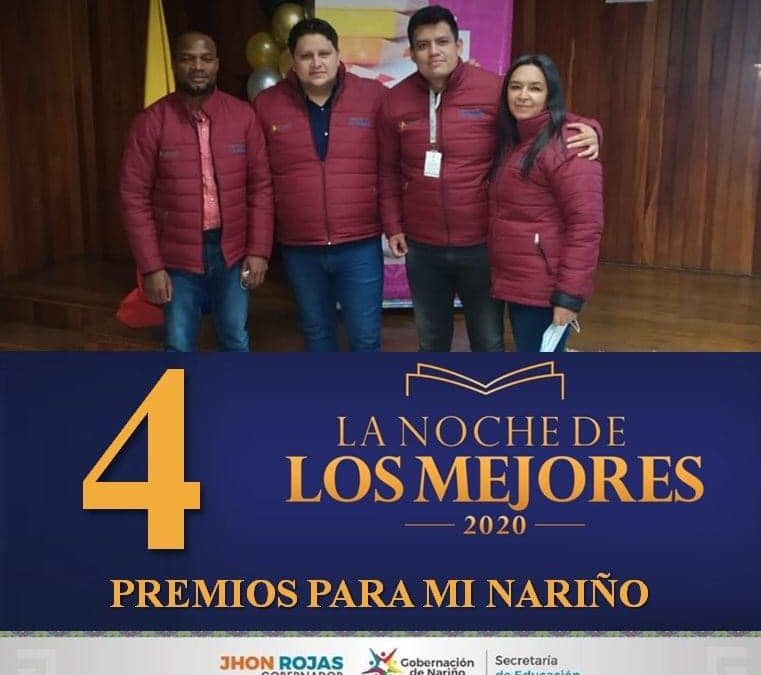 4 galardones recibió la Secretaría de Educación Departamental, en 'La noche de los mejores'
