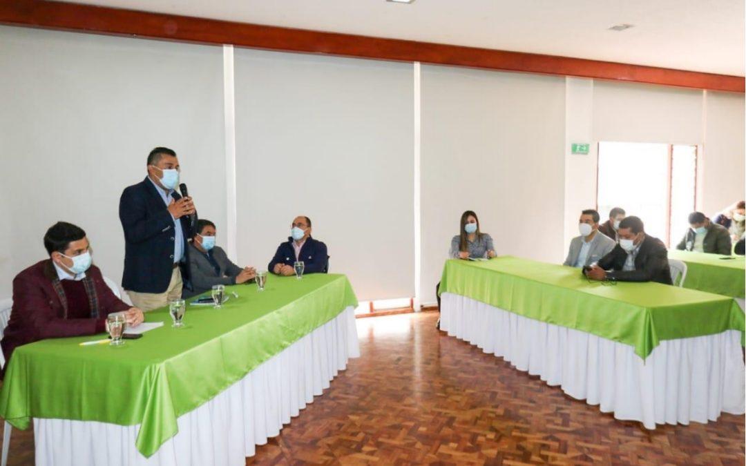 Nariño ya cuenta con el 'Comité de Acuerdos Municipales' para la aprobación y priorización de proyectos