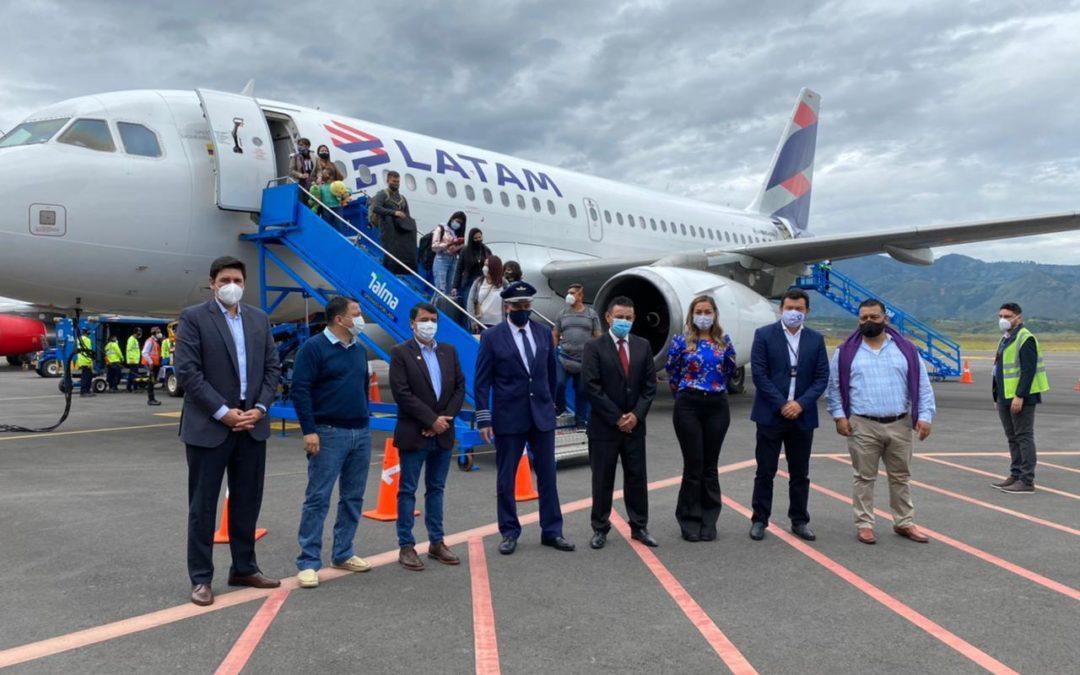 Inaugurada nueva ruta aérea Bogotá – Pasto operada por Latam