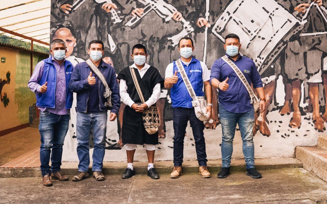 Empieza primera fase de Reparación Colectiva Étnica en el Resguardo Indígena de Aponte