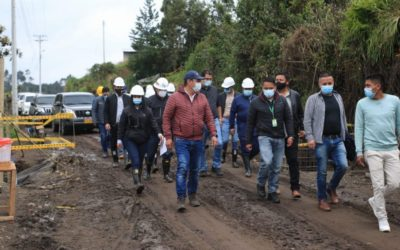 Avanzan obras de infraestructura vial, por un Nariño más Competitivo y Conectado