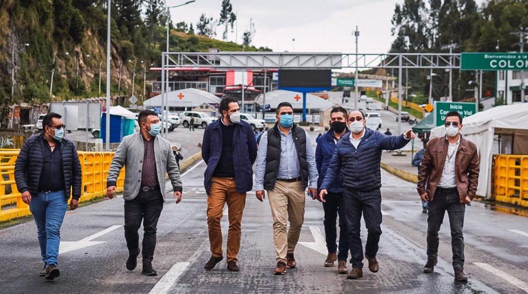 Gobernación de Nariño adelanta acciones para fortalecer la seguridad en la frontera