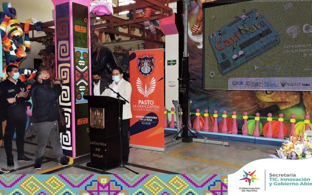 Gobernación de Nariño entrega el Centro para la Apropiación en Ciencia Tecnología e Innovación CatiNar para la Ciudad de Pasto.