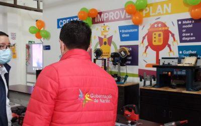 El Laboratorio 13 de Ciencia Tecnología e Innovación del Departamento se inauguró en Pasto