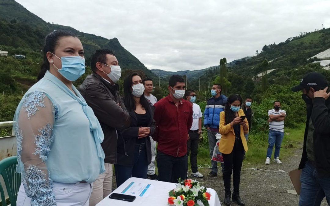En San Bernardo- Nariño se ejecutarán obras por más de 8.900 millones