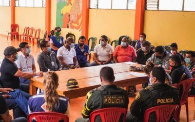 Gobernación de Nariño promueve mesa de diálogo entre el Gobierno Nacional y el Resguardo Indígena de Mallama