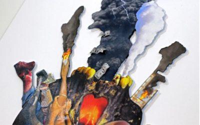 Casa de la Cultura expone obras de David Ve Delgado nariñense que brilla en Barcelona