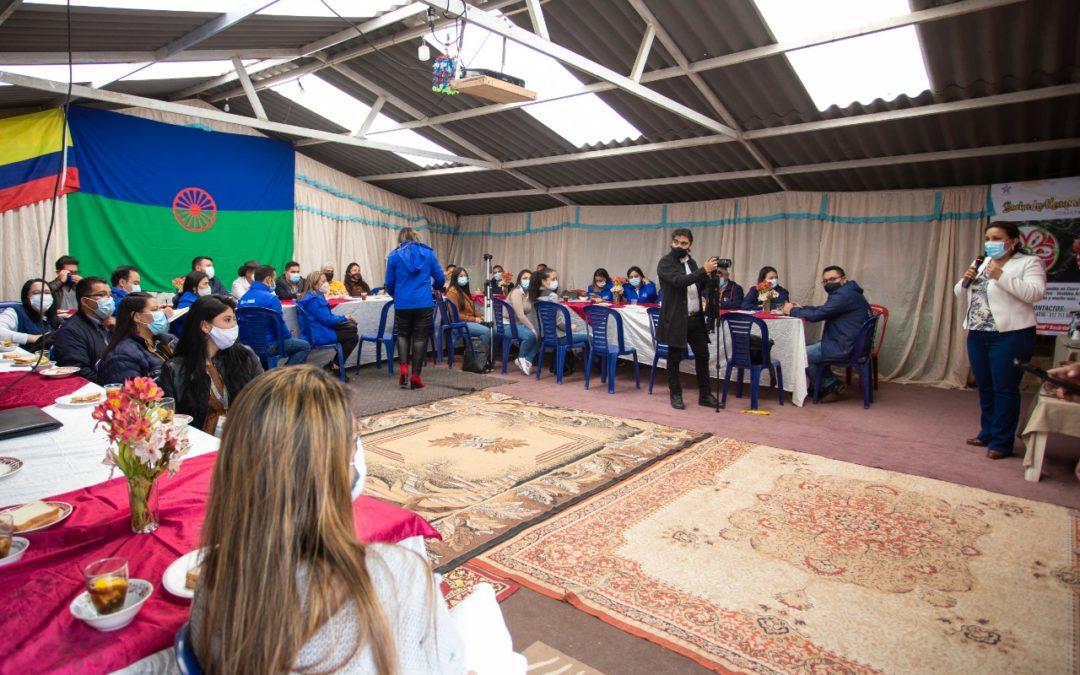 Gobernación de Nariño presente en conmemoracióndel Día Internacional del Pueblo Gitano