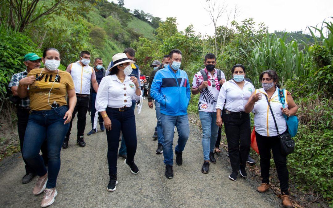 Gobernación iniciará trabajos de recuperación de corredor vial Ancuya – Sandoná