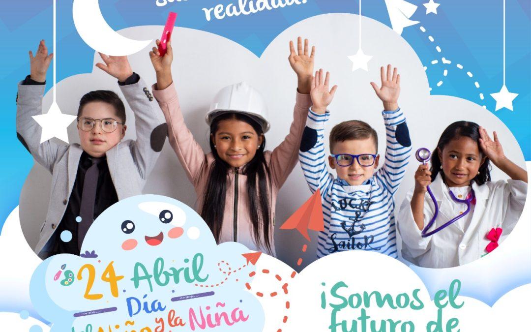 Gobernación de Nariño celebra el Día del niño y la niña con la convocatoria 'Yo Quiero Ser'