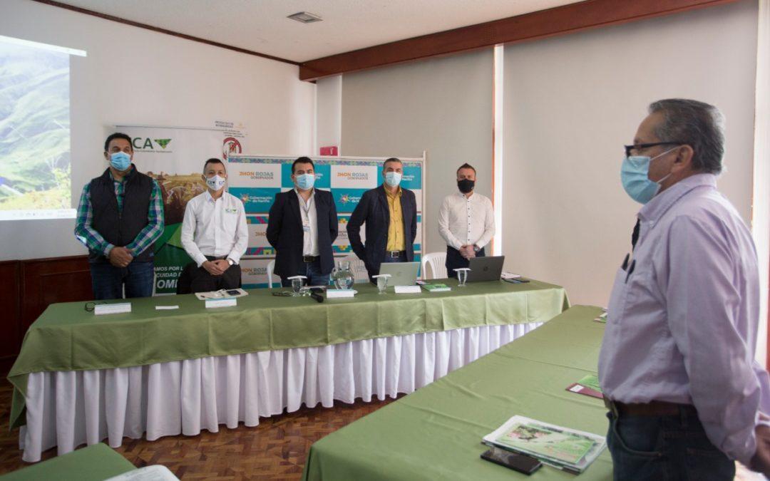 Gobierno Nacional, Departamental y productores buscan soluciones a la enfermedad 'punta morada' de la papa en Nariño