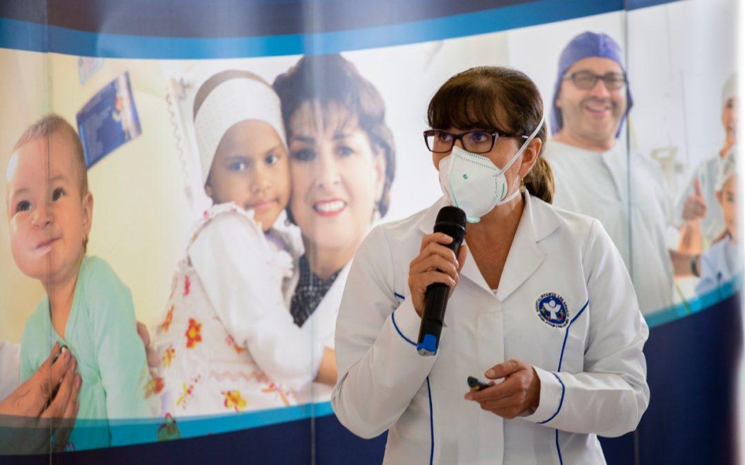 Con recursos de regalías se desarrolla proyecto para beneficio de pacientes con cáncer infantil en Nariño