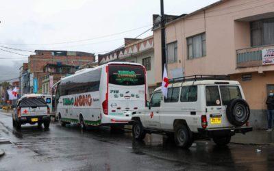 Gobernación habilitó corredor humanitario para transportar a más de 80 personas desde Pasto hacia Tumaco y Barbacoas